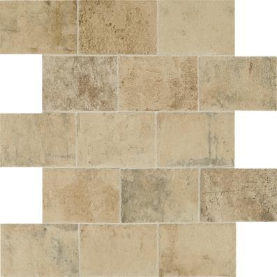 Brickwork Paver Field Tile - Atrium Bel Terra