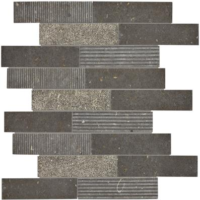 Center City Limestone - Flamed - Chadwick Charcoal Bel Terra