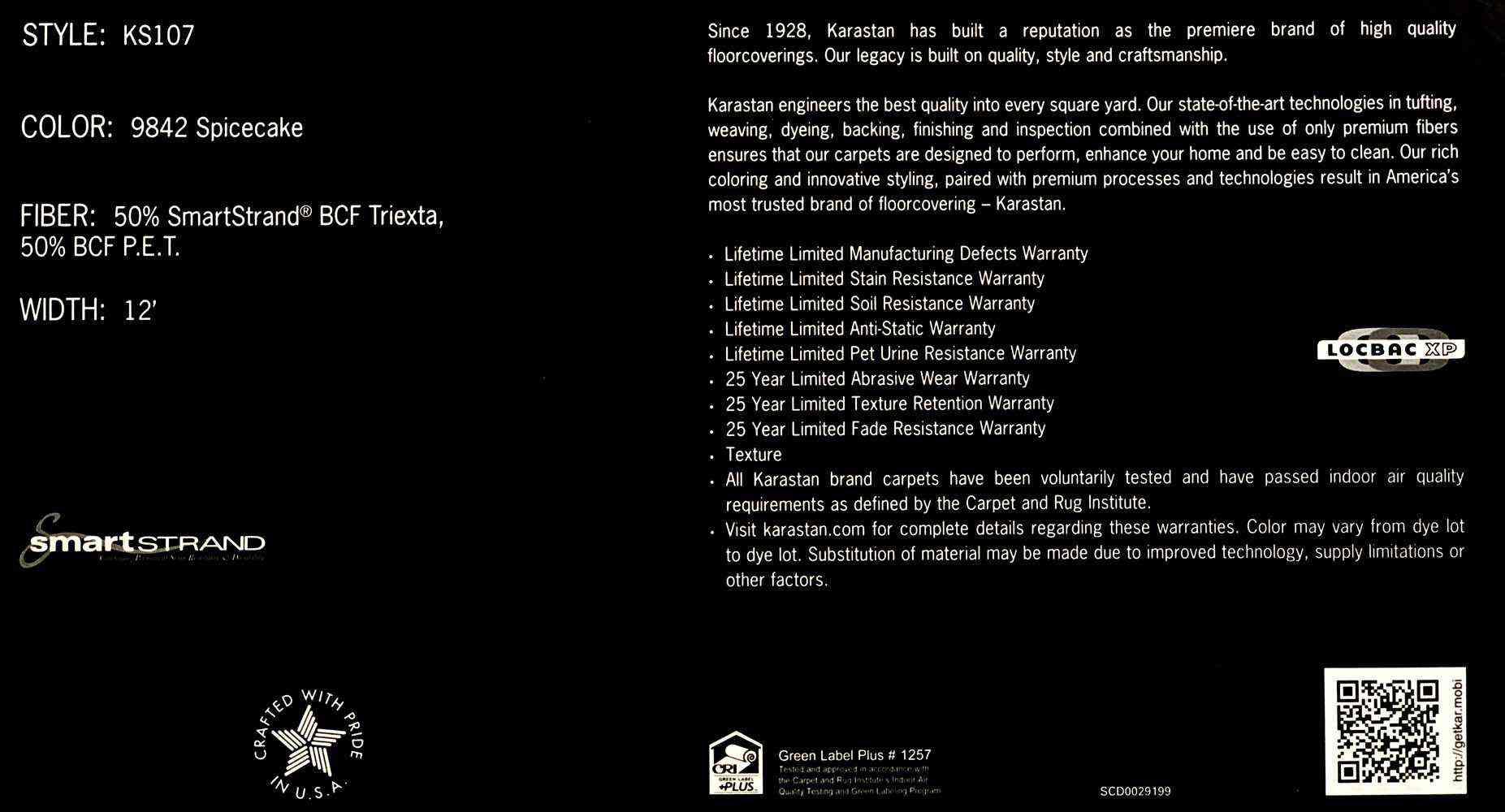 Karastan 107 Giant Floor Scranton Wilkes Barre