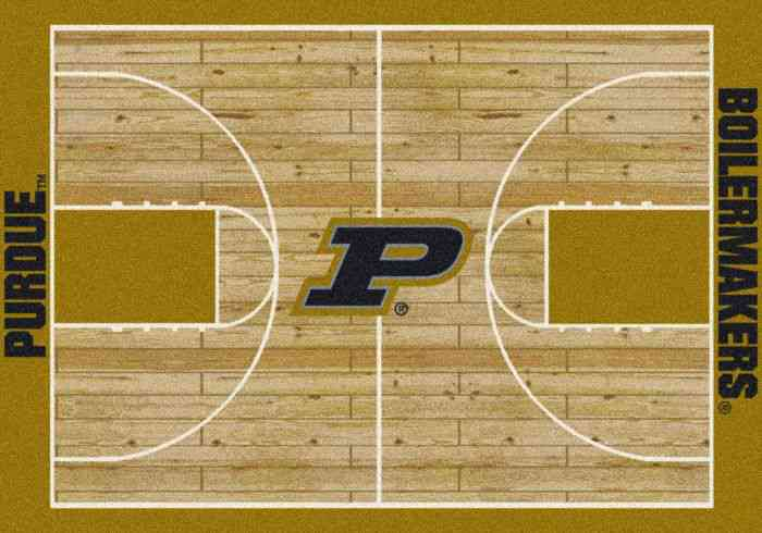 Milliken Purdue Home Court 3 10x5 4 Multicolor Giant