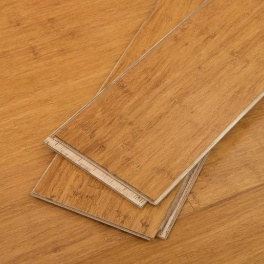 "Mocha Wide Click Bamboo 9/16"""