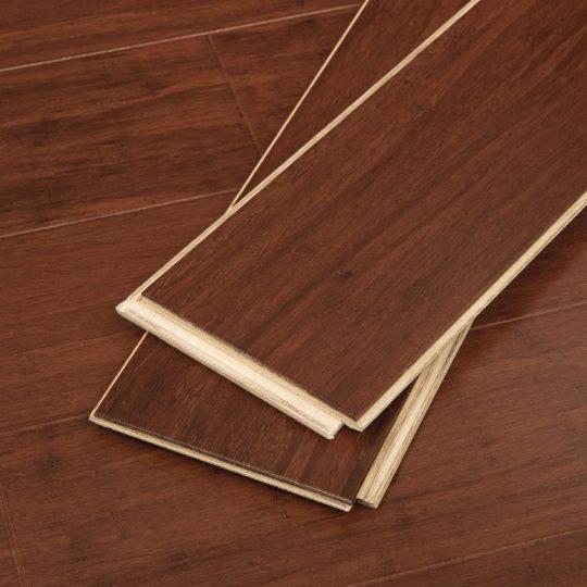 "Cognac Wide Click Bamboo 9/16"""